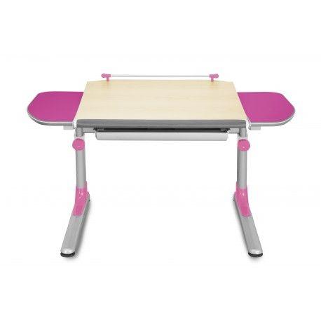 Biurko ergonomiczne rosnące razem z dzieckiem różowe Profi3 Mayer - ergopoint.com.pl